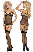 Эротические боди Roxana Fishnet Bodystockings S-M/Black