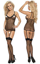 Эротические боди Roxana Fishnet Bodystockings S-M/Black