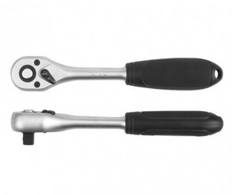 """Трещотка 1/4"""" с пластиковой ручкой YATO YT-0307, фото 2"""