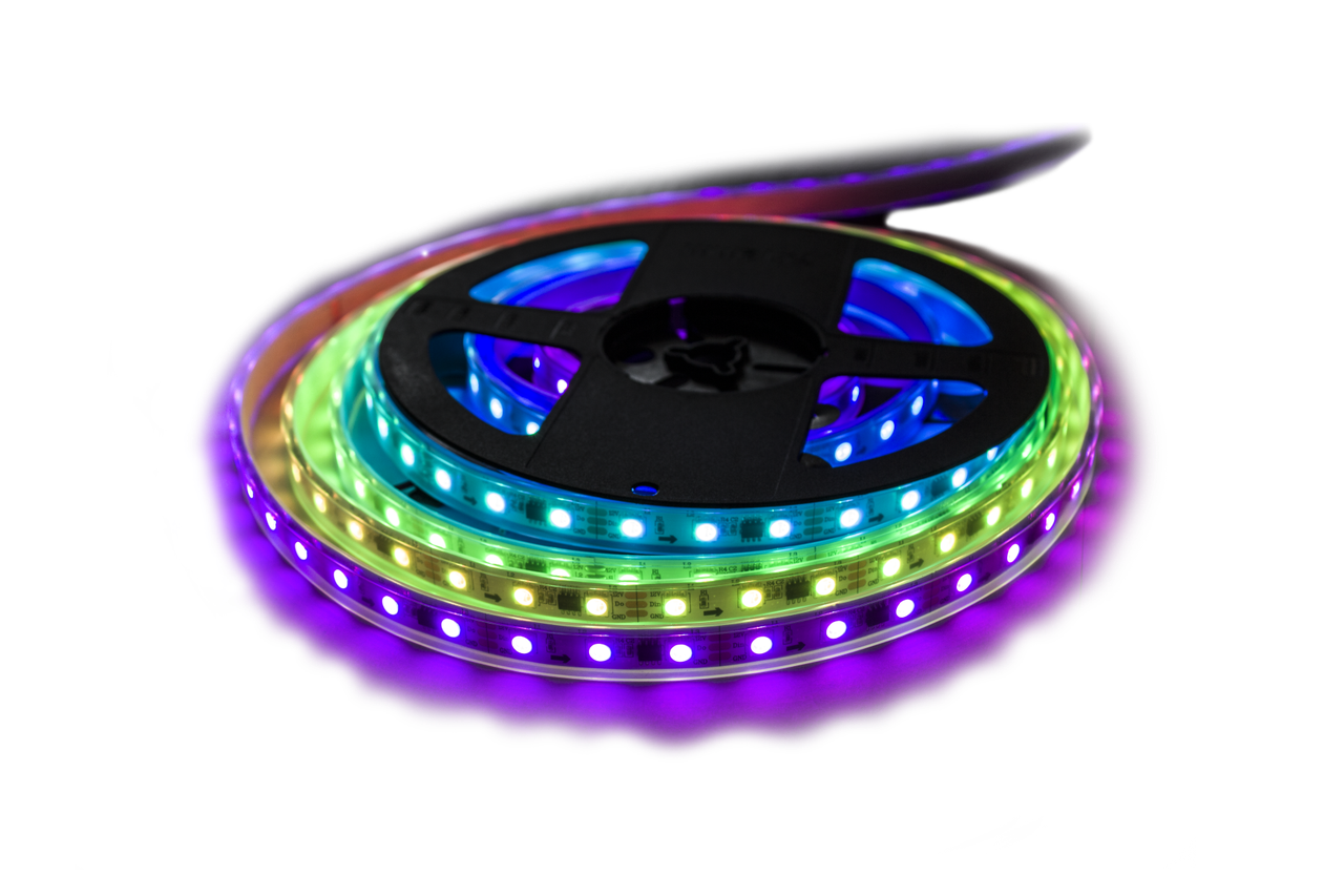 Светодиодная лента UkrLed SMD5050 60d/m IP68 MAGIC STRIP ws2811 (RGB) (20672)