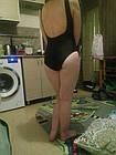 Сдельный черный купальник (50/2), фото 9