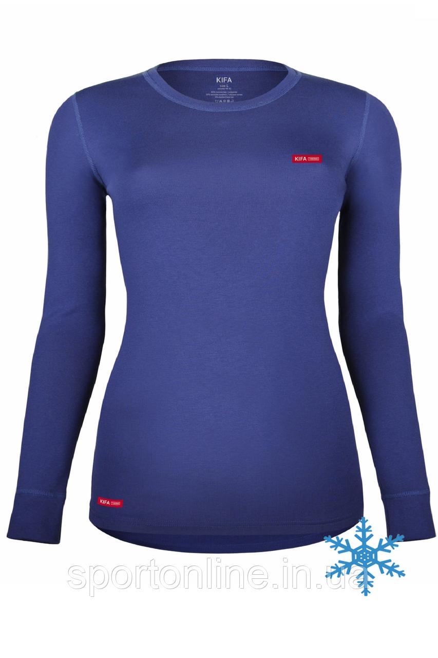 Термоджемпер женский Кифа (Kifa) VORTEX Active Comfort ДЖ-530, синий, тёплый S