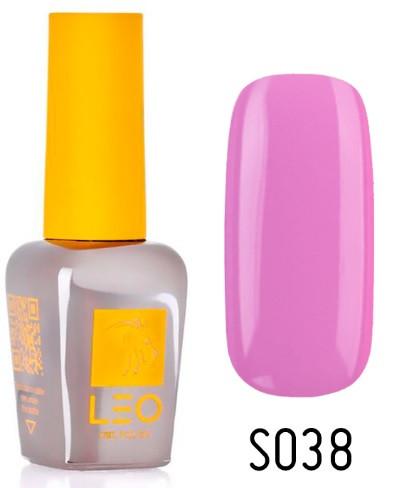 Гель-лак для ногтей LEO seasons №038 Плотный светло-лиловый (эмаль) 9 мл