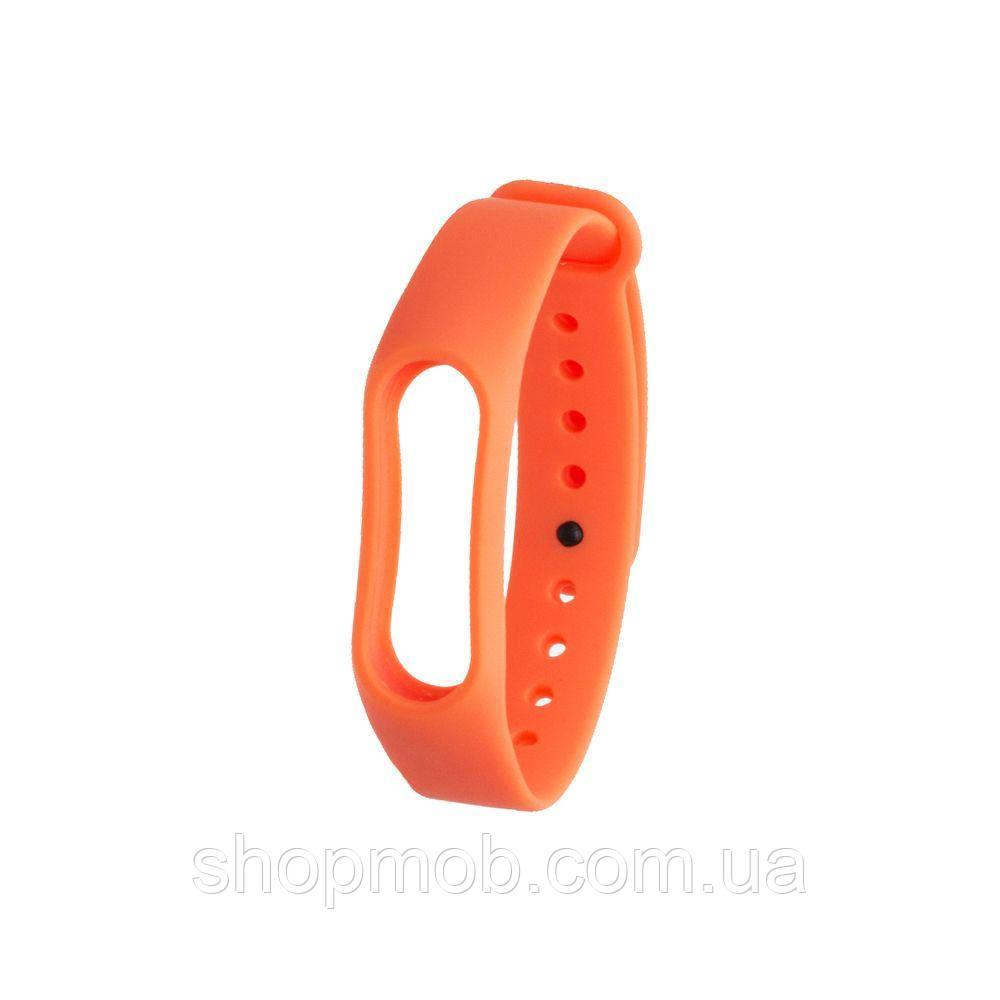 Ремешок для Xiaomi Mi Band 3 Original Design Цвет Оранжевый