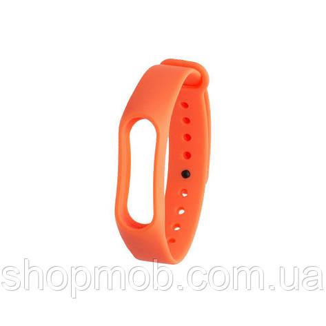 Ремешок для Xiaomi Mi Band 3 Original Design Цвет Оранжевый, фото 2