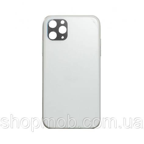 Чехол TPU Matt for Apple Iphone 11 Pro Max Цвет Белый, фото 2