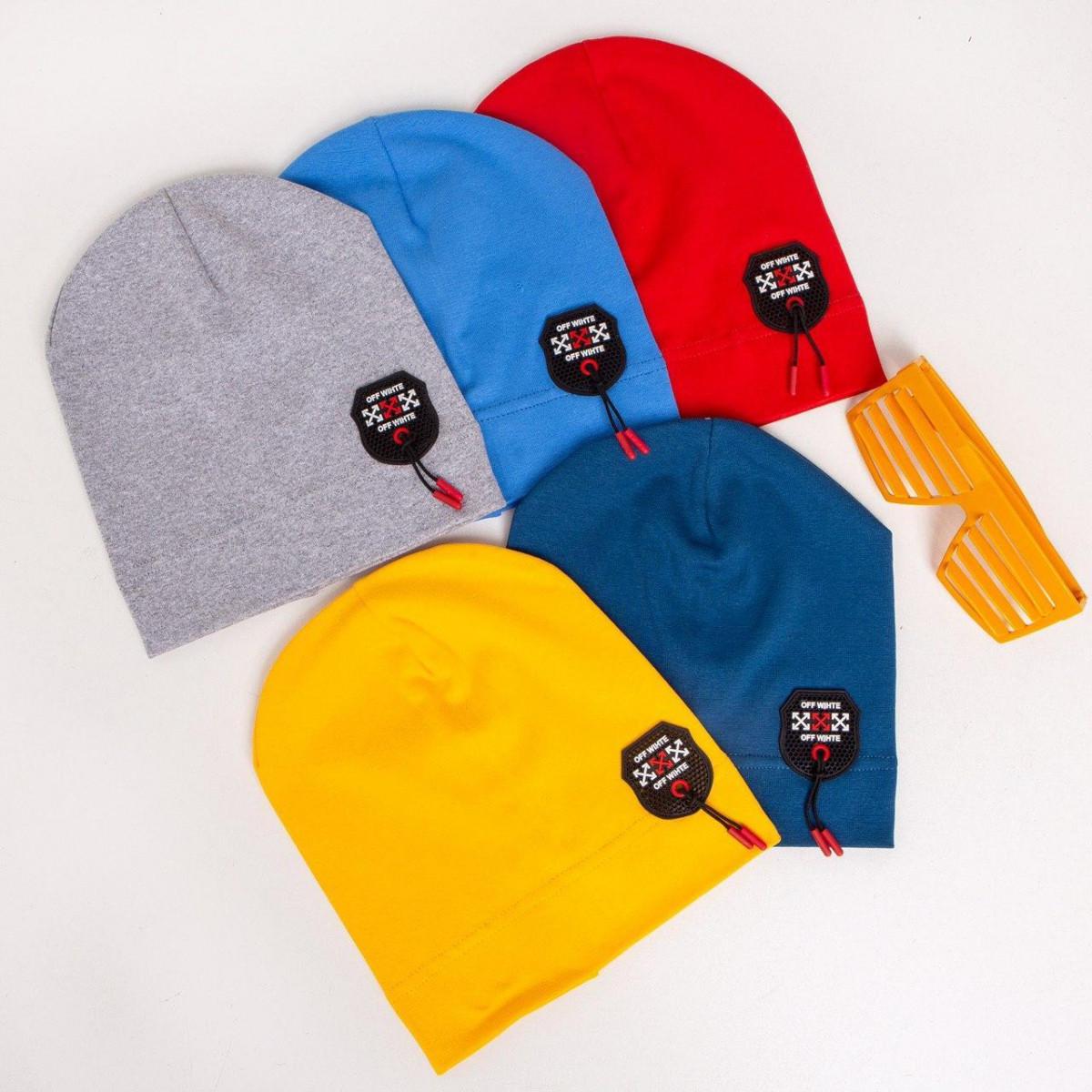 Трикотажна шапка для хлопчика на весну-осінь оптом - Артикул IH11