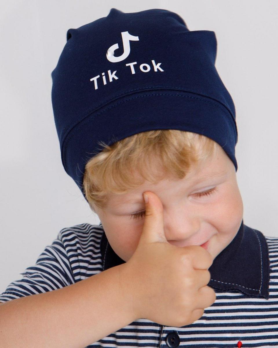 Трикотажна шапка для хлопчика на весну-осінь оптом - Артикул IH14