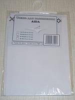 Канва (аида 16) для вышивания, белая (32*45 см)
