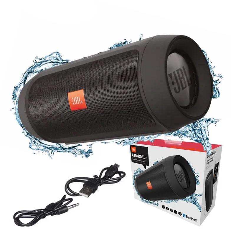 Колонка блютуз беспроводная Jbl Charge 2+ портативная Музыкальная юсб usb3 bluetooth Джбл для Телефона громкая