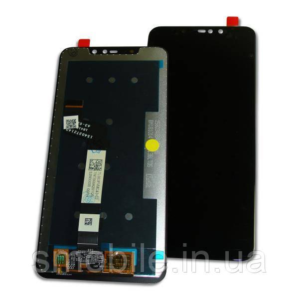 Дисплей Xiaomi Redmi Note 6 Pro с сенсором, черный (оригинальные комплектующие)