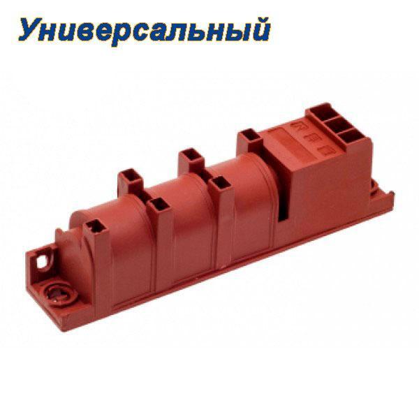 Блок розжига для газовой плиты на 4 свечи розжига (Универсальный)