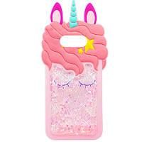 Силиконовый чехол Unicorn 3D для Samsung Galaxy S10