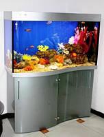 Продажа аквариумов с крышкой, освещением, подставкой. Изготовление под заказ.