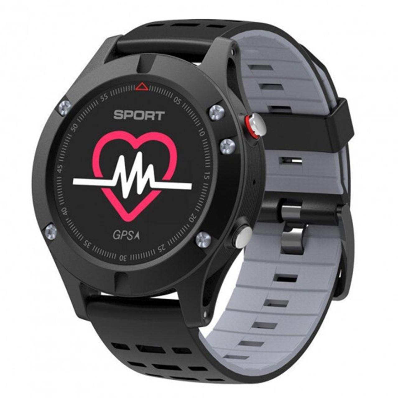 Мультиспортивные часы JETIX F5 с GPS трекером Black Grey (2704976)