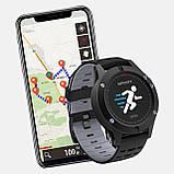 Мультиспортивные часы JETIX F5 с GPS трекером Black Grey (2704976), фото 2