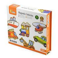 Набор магнитов Транспорт Viga Toys, 20 шт. (58924), фото 1