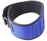 Пояс для тяжелой атлетики неопреновый SportVida SV-AG0097 (XXL) Blue, фото 2