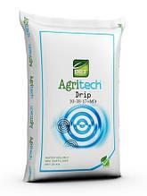 Комплексне водорозчинне добриво Агритек Дріп 10-38-17+МЕ - 25кг