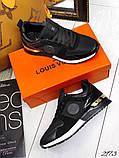 Женские кроссовки Louis Vuitton кожа + текстиль. Очень крутые! Расцветки!, фото 3