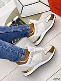 Женские кроссовки Louis Vuitton кожа + текстиль. Очень крутые! Расцветки!, фото 6