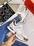 Женские кроссовки Louis Vuitton кожа + текстиль. Очень крутые! Расцветки!, фото 7