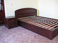 Ліжко дубове , букове 1600х2000