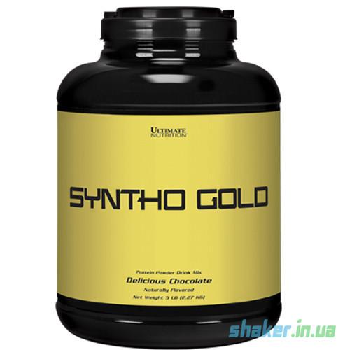 Комплексный протеин Ultimate Nutrition Syntho Gold (2,27 кг) ультимейт синто голд ваниль