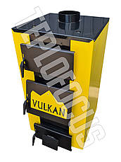 Котел твердотопливный Vulkan Standart 15 кВт (утепленный), фото 2