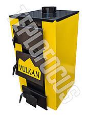 Котел твердотопливный Vulkan Standart 15 кВт (утепленный), фото 3