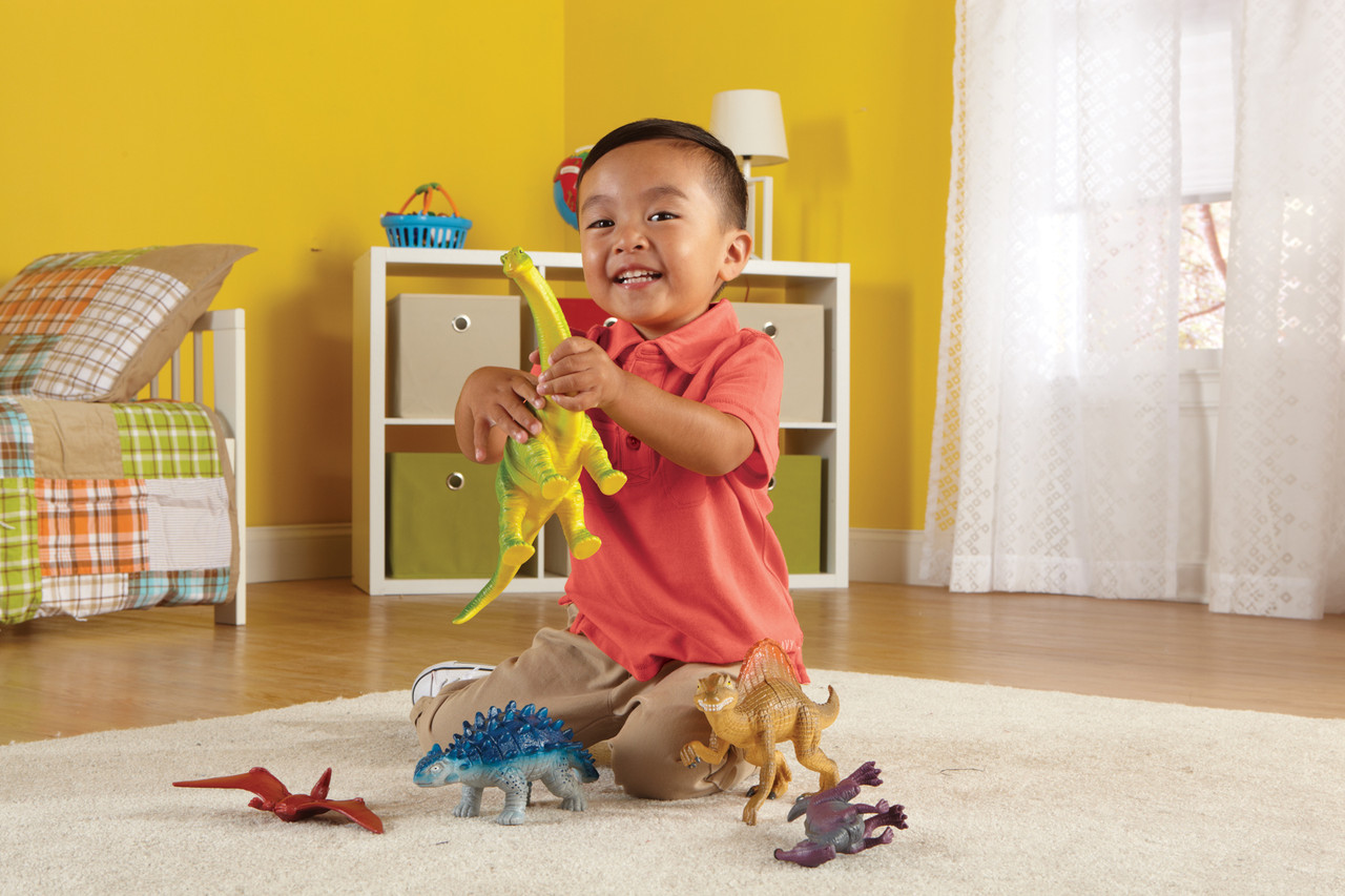 """Набор больших животных """"Динозавры"""" Set 2 Learning Resources"""