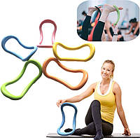 Кольцо-тренажер (круг) для пилатеса йоги и фитнеса Yoga-ring