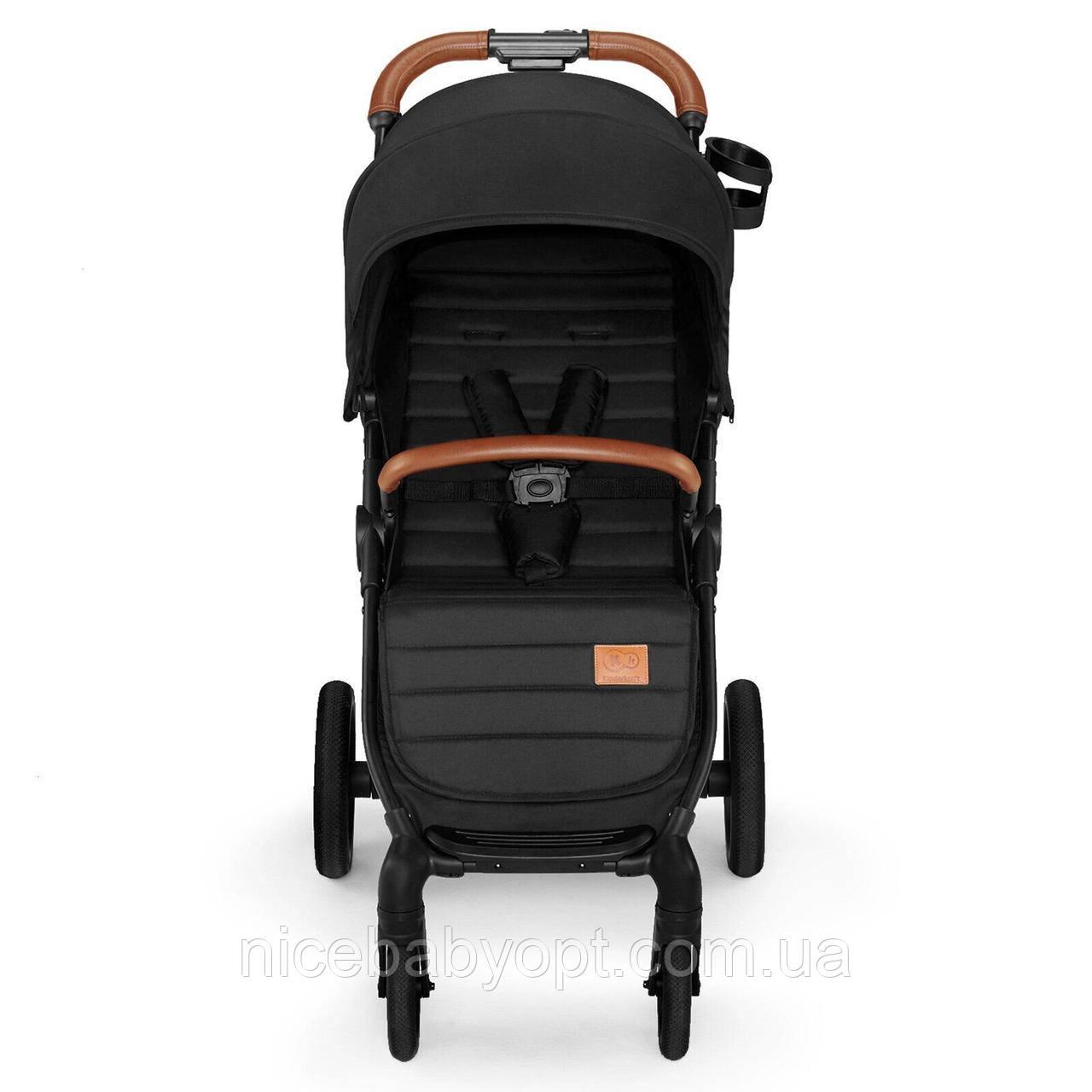 Прогулочная коляска Kinderkraft Grande Black 2020