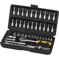 Набор ручных инструментов 46 шт Сталь 70014 (66474)