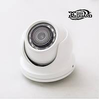 Видеокамера уличная миниатюрная купольная 1.3 МП AHD/CVI/TVI/CVBS DigiGuard DG-1300 (3.6 мм)