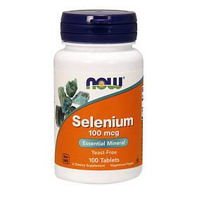 Селен Now Foods Selenium 100 mcg (100 таб) нау фудс селениум