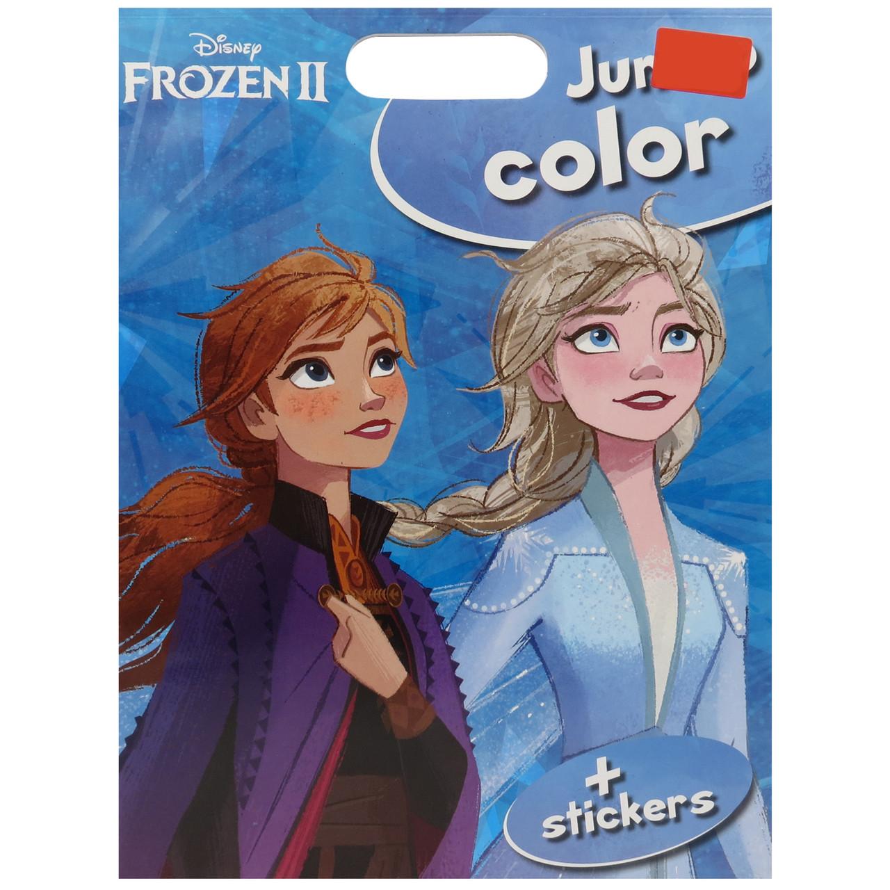 """Раскраска с наклейками """"Frozen"""" Disney 034 !!!"""