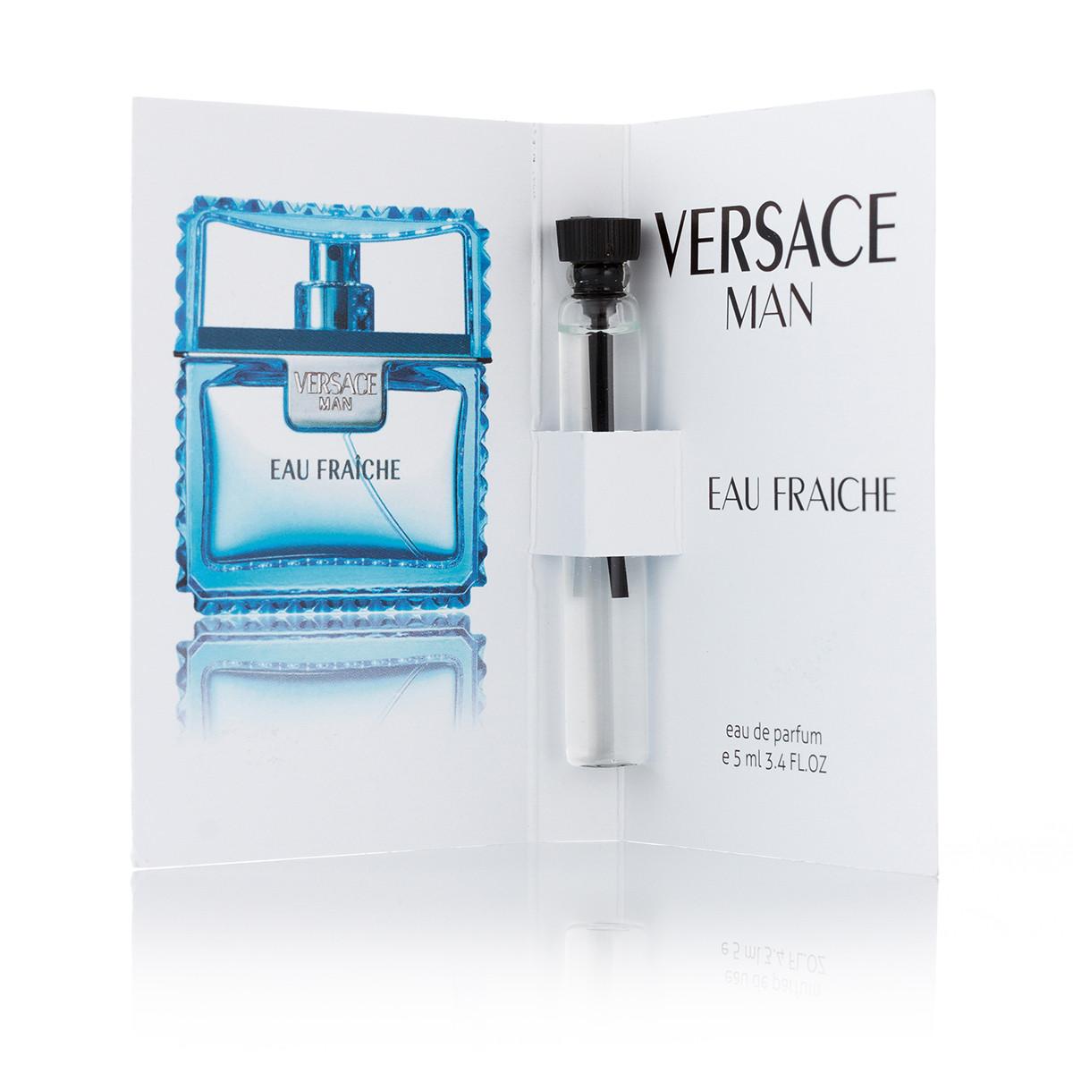 Мужская парфюмерия Versace Man Eau Fraiche пробник 5 ml (реплика)