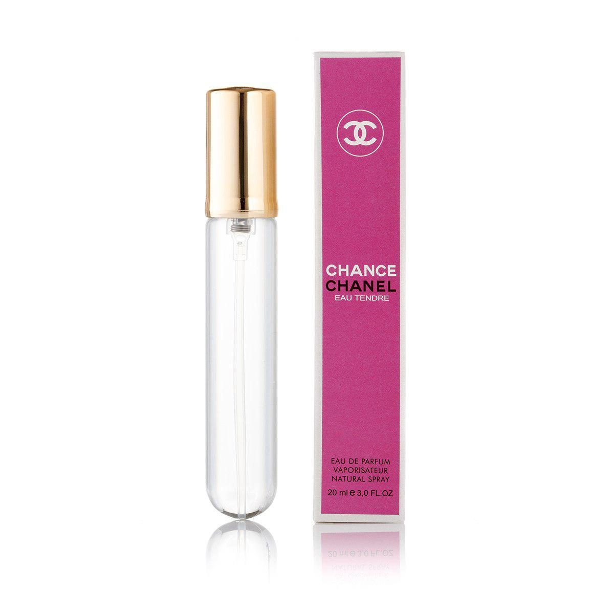 Chanel Chance Eau Tendre (Шанель Шанс О Тендер) женский минипарфюм парфюм  20 ml (реплика)