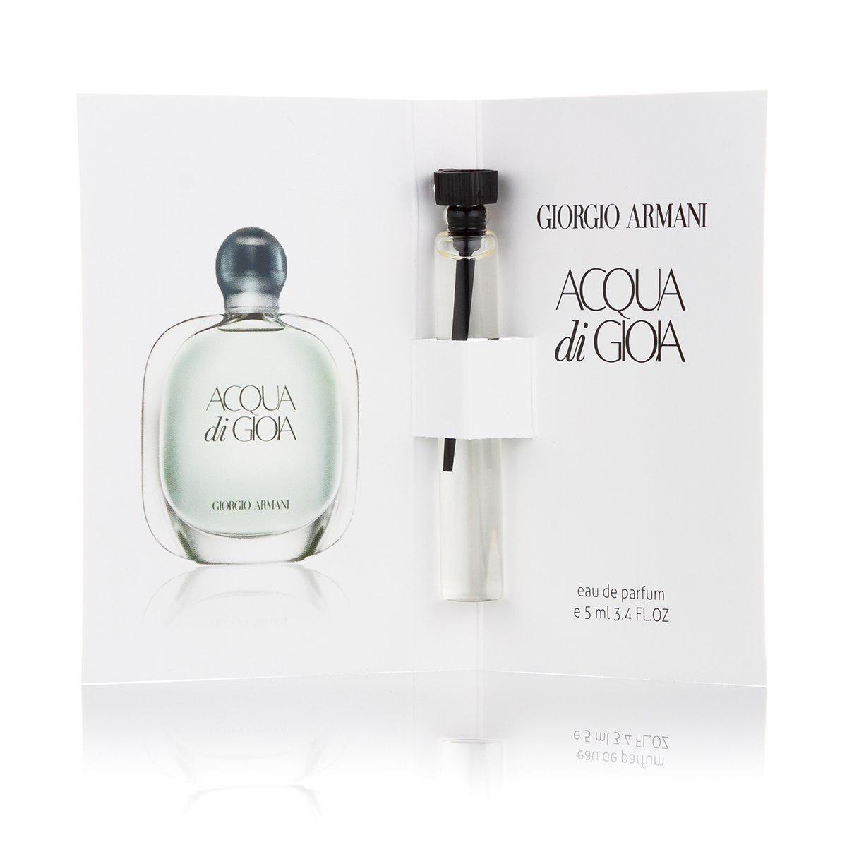 Мини парфюмерия женская Armani Acqua di Gioia Eau пробник 5 мл  (реплика)