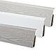 Плінтус Lima F4. Дуб Рояль підлоговий пластиковий з кабель каналом 2500x72x22, фото 8