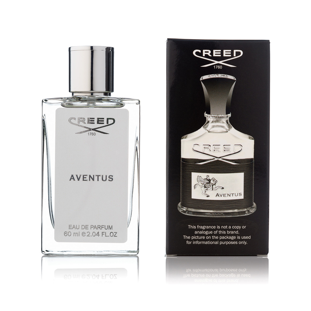 Мужская парфюмерия Creed Aventus (крид авентус) тестер 60 ml (реплика)