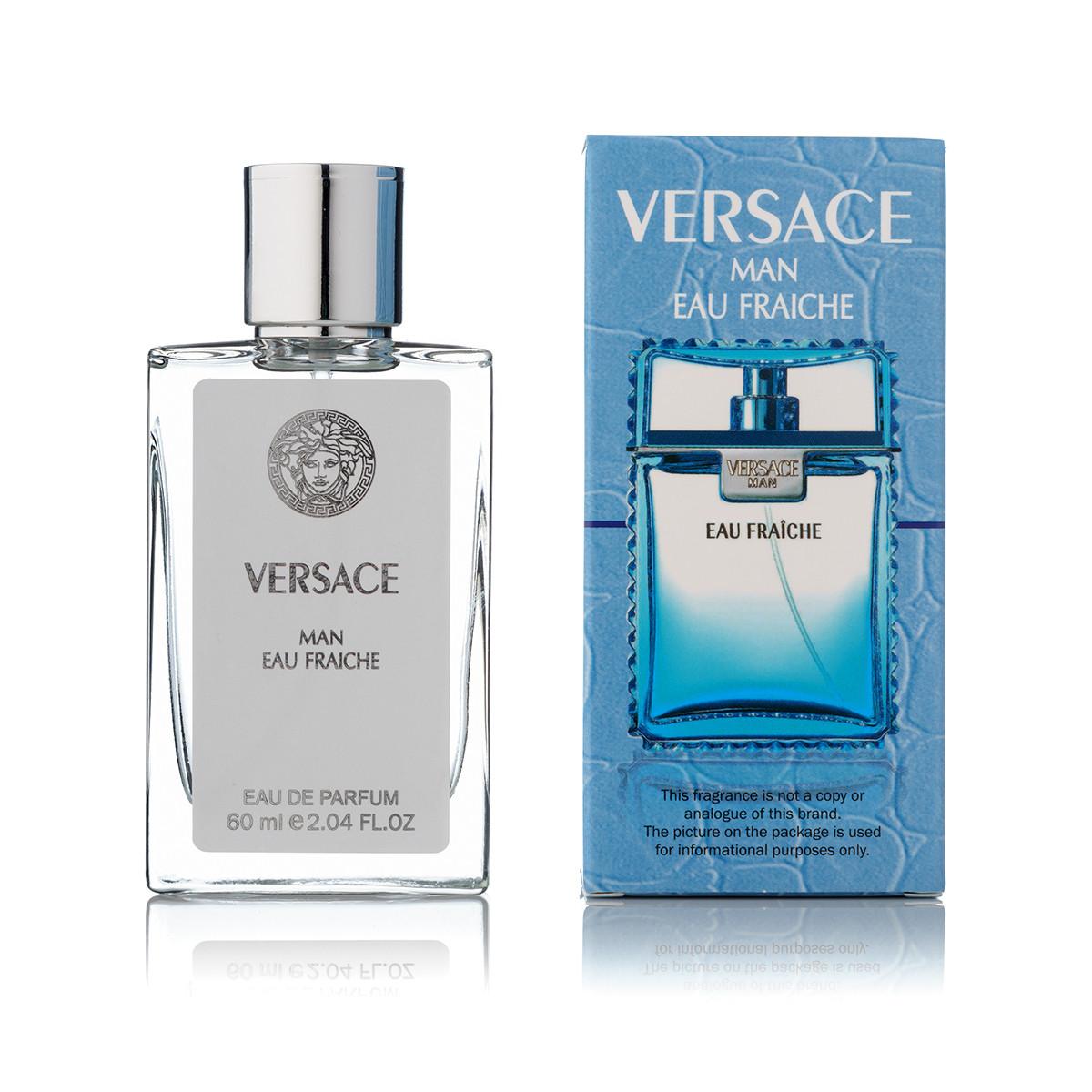 Мужская парфюмерия Versace Man Eau Fraiche (версаче фрэш мэн) тестер 60 ml (реплика)