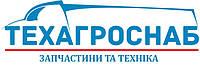 Манжета 80*105*10 редуктора заднего моста правого вращения красная Украина