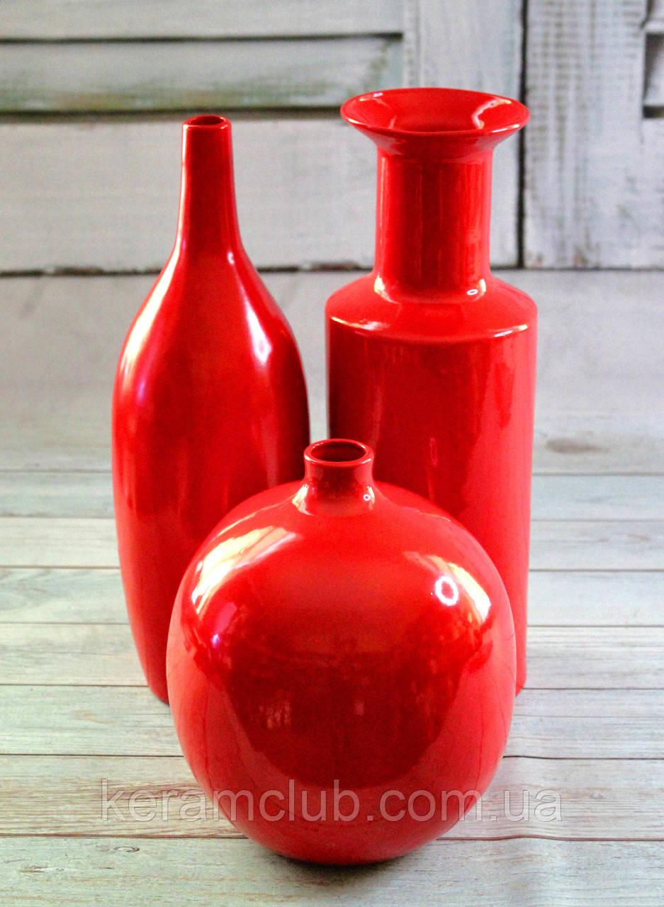 Набор интерьерных ваз Рэд