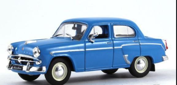 Автолегенды №1 Москвич-407 | Коллекционная модель 1:43 | DeAgostini
