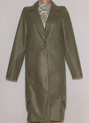 Кардиган-пальто з щільного трикотажу (42-48), фото 3