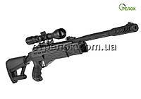 Винтовка пневматическая Hatsan AirTact с газовой пружиной (усиленной) с прицелом Sniper 3-9X40 AR