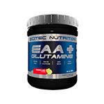 Комплекс амінокислот Scitec Nutrition ЕАА + glutamine (300 г) скайтек еаа з глютаміном melon cola