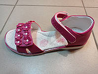 Детские босоножки кожаные для девочки Clibee 34,35, фото 1